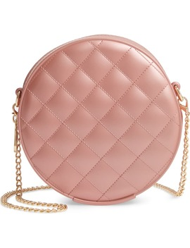 Round Jelly Quilted Crossbody Bag by Bp.