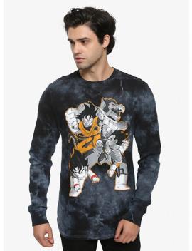 Dragon Ball Z Group Tie Dye Long Sleeve T Shirt by Hot Topic
