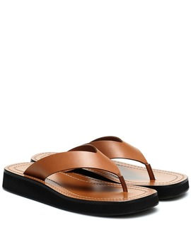 Ginza Leather Sandals by The Row