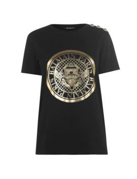 Coin T Shirt by Balmain