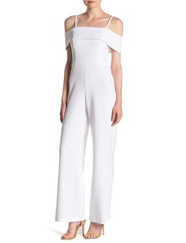 Cold Shoulder Jumpsuit by Laundry By Shelli Segal