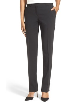 Tamea Tropical Stretch Wool Trousers by Boss