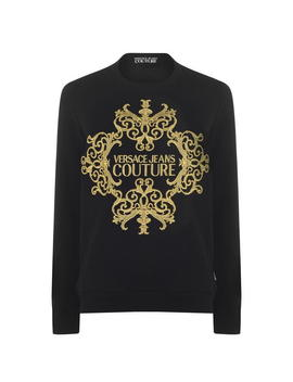 Baroque Logo Sweatshirt by Versace Jeans Couture