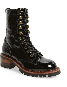Sycamore Patent Leather Boot by Jeffrey Campbell