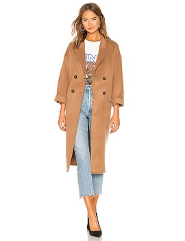 Dylan Coat In Brown by Anine Bing