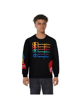 Champion Coca Cola Repeat Long Sleeve T Shirt by Champs Sports