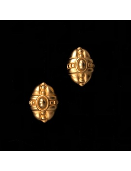 Authentic Vintage 1980's Givenchy Clip On Earrings by Givenchy