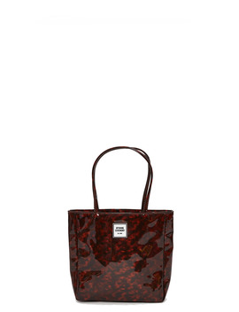 Mini Tortoise Print Pvc Tote by Opening Ceremony