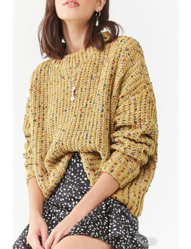 Pom Pom Accent Sweater by Forever 21