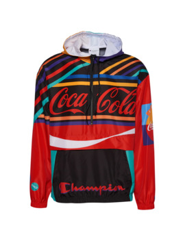 Champion Coca Cola Script Anorak Jacket by Champs Sports