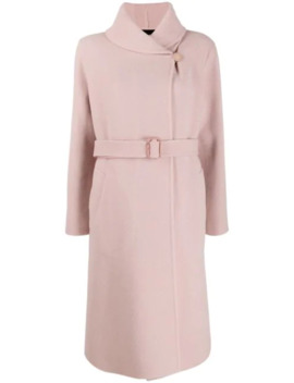Belted Trench Coat by Giorgio Armani