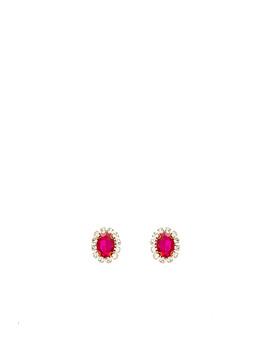 Costume Gemstone Earrings by Area