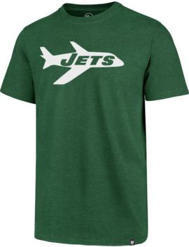 '47 Men's New York Jets Legacy Logo Club Green T Shirt by '47