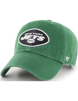 '47 Men's New York Jets Clean Up Green Adjustable Hat by '47