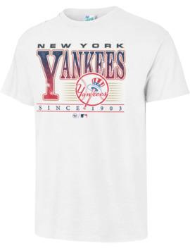 '47 Men's New York Yankees Vintage White T Shirt by '47