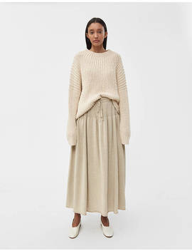 Tier Linen Skirt by Lauren Manoogian Lauren Manoogian