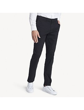 Slim Fit Chino In Stretch Cotton by Tommy Hilfiger