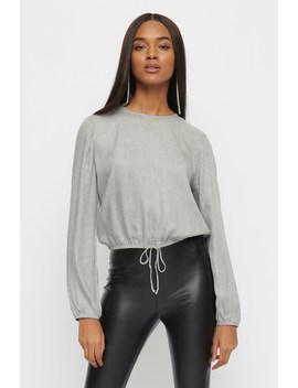 Long Sleeve Blouse by Dynamite