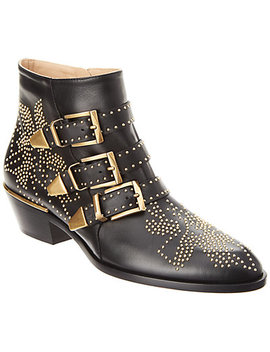 Chloè Susanna Studded Leather Bootie by Chloe