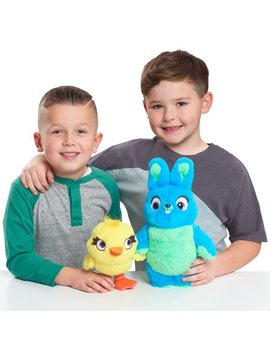 Disney Pixar's Toy Story 4 Talking Ducky & Bunny Plush by Disney Pixar's Toy Story