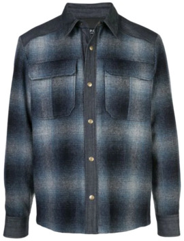 Gradient Check Shirt by A.P.C.