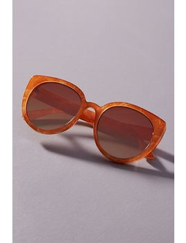 Doris Cat Eye Sunglasses by Anthropologie