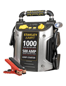 Stanley 1000/500 Amp 12 V Jump Starter With Led Light And Usb (J509) by Stanley