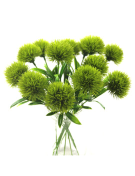 Artificial Flowers Green Real Touch Dandelion Fake Plants Plastic Flowers Home Decoration Length 25cm by Ali Express.Com