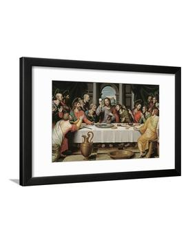 The Last Supper Framed Print Wall Art By Juan De Juanes by Art.Com
