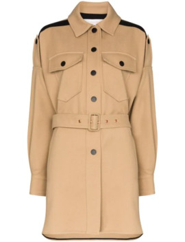 Belted Single Breasted Coat by See By Chloé