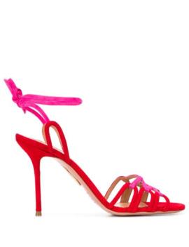 Azur 95mm Sandals by Aquazzura