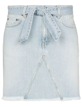 Belted Denim Mini Skirt by Givenchy