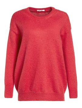 Relaxed Mohair Blend Knit Sweater by Max Mara