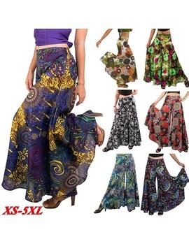 Women Floral Baggy Pants Summer Boho Pants Casual Harem Pants Comfy Wide Leg Trousers Plus Size Loose Yoga Pants by Wish