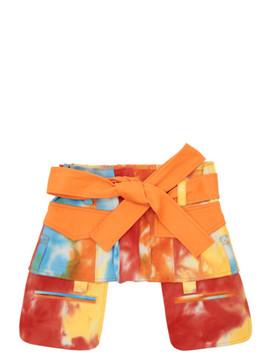 Orange Army Corset Belt by Asai