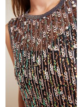 Corey Lynn Calter Sequined Swing Maxi Dress by Corey Lynn Calter