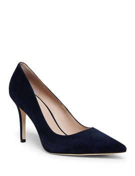 Vivian Suede Stiletto Pumps by Kate Spade New York