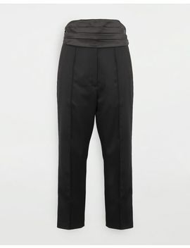 Trousers With Belt by Maison Margiela