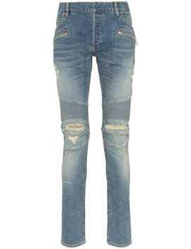 Gescheurde Jeans by Balmain