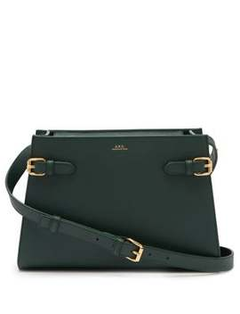 Charlotte Saffiano Leather Shoulder Bag by A.P.C.
