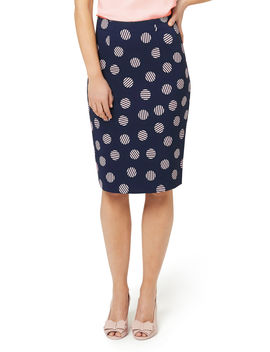 Stripe Spot Skirt by Review