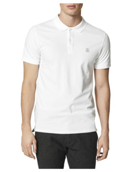 Shharo Embroidered Polo by Selected Homme
