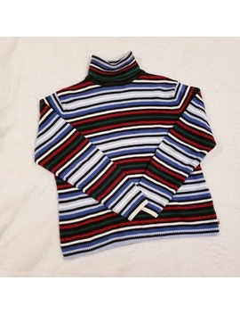 Tommy Hilfiger Striped Turtleneck Sweater by Tommy Hilfiger