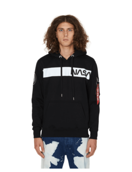 Nasa Hooded Sweatshirt by Alpha Industries