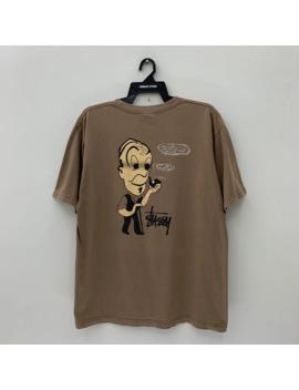 Stussy T Shirt Vintage 90s Nice Design Vtg Stussy Tee Shirt by Vintage  ×  Stussy  ×  Streetwear  ×