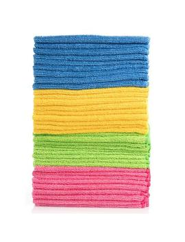 Hometex Microfiber Towels (48 Pk., 4 Colors) by Hometex