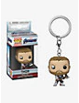 Funko Pop! Marvel Avengers Pocket Thor Bobble Head Key Chain by Box Lunch