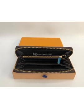 Zippy Wallet Vertical The Most Stylish Way To Carry Around Money, Cards And Coins Famous Design Men Leather Purse Card Holder Long Business by D Hgate.Com