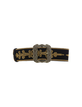 Embroidered Suede Belt by Etro