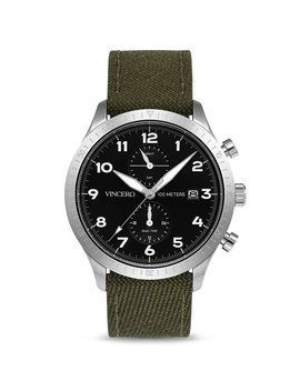 The Altitude Silver/Military Green by Vincero